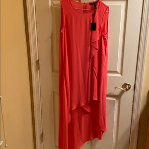 BCBG High Low Maxi Dress